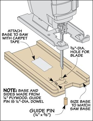 Template Cutting with a Jig Saw #jig saw #woodworking #projects