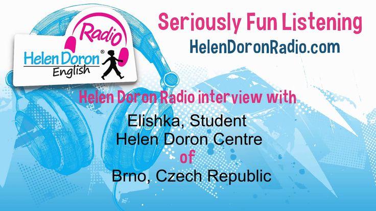 Interview with Elishka - Helen Doron Teen English Student from Czech Republic.