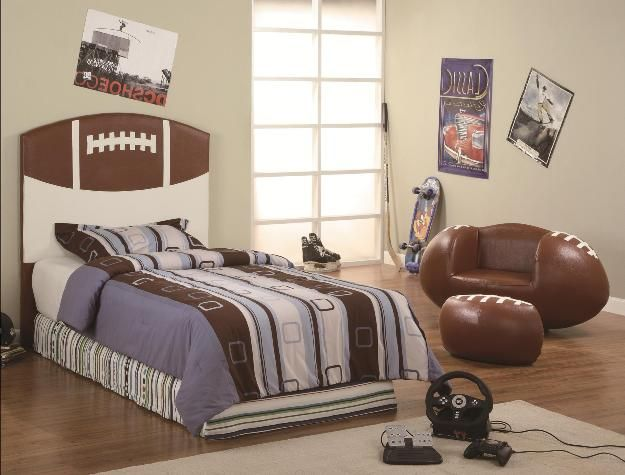 243 Best Images About Sports Themed Rooms On Pinterest