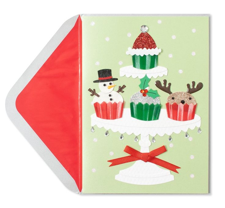93 best papyrus christmas images on pinterest christmas greetings green red handmade holiday cupcakes price 795 m4hsunfo