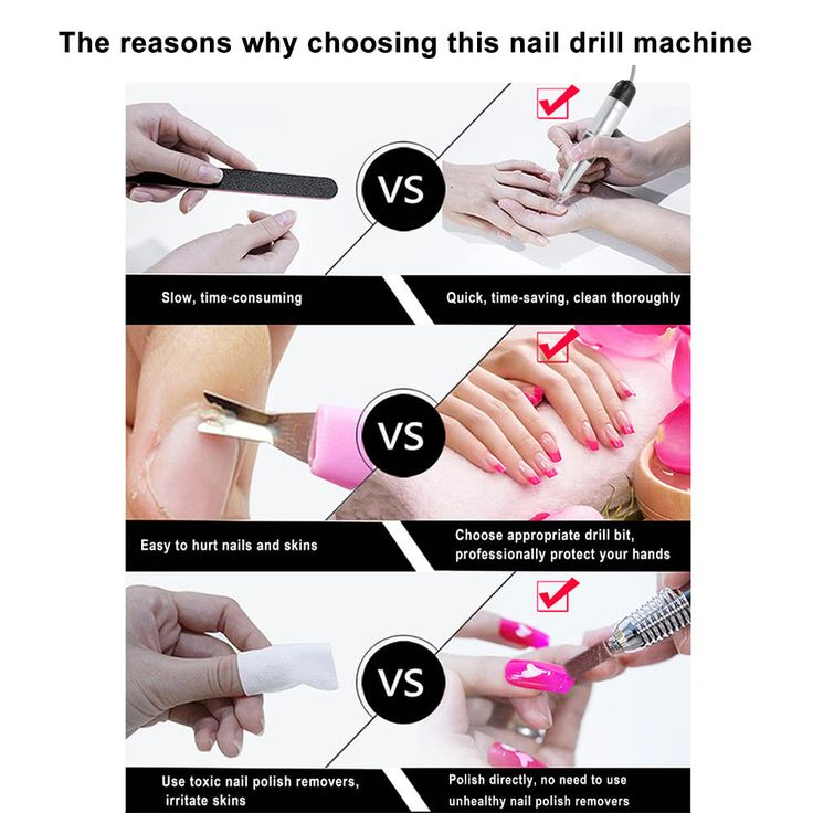 Electric Nail Drill Machine Diamond Nail File Drill Machine Sales Online black eu - Tomtop.com