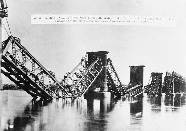 Bethulie Bridge, Free State, South Africa blown up by the Boers on 10 March 1900 [[MORE]] http://www.iwm.org.uk/collections/item/object/205357287