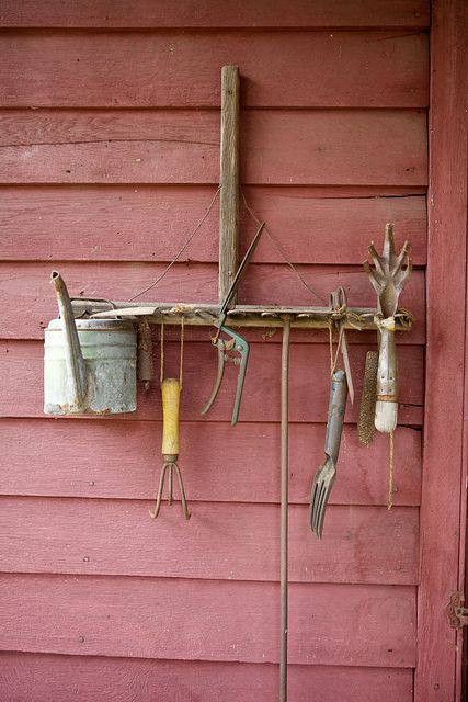 A cute idea to add a natural feel to your garden!
