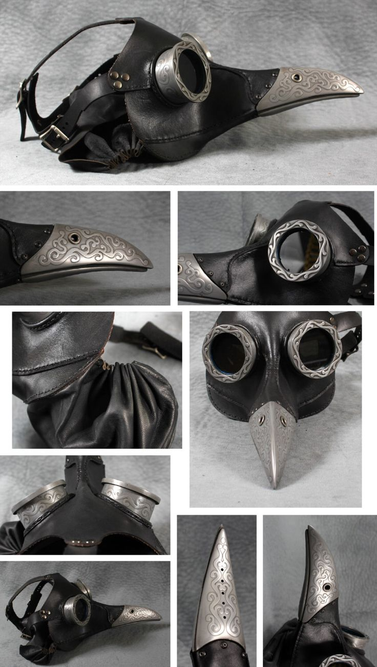 """Steampunk Plague Doctor Mask in black """"Ichabod"""" by TomBanwell on Etsy https://www.etsy.com/listing/78161736/steampunk-plague-doctor-mask-in-black"""