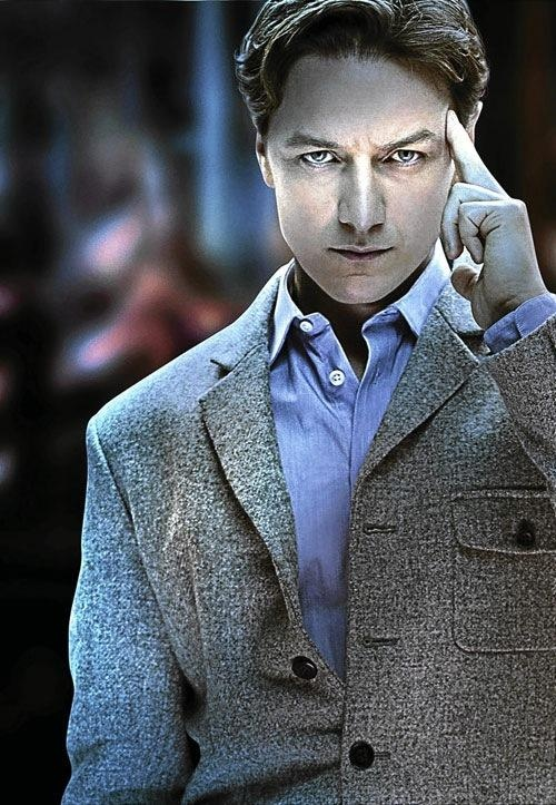 Publicity photo of James McAvoy as Charles Xavier / Professor X in X-Men: First Class (2011)
