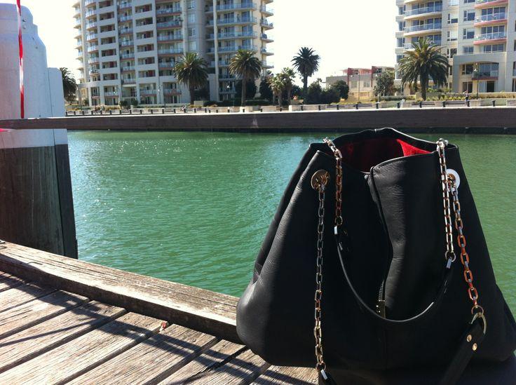 Z.HOUND at the Port of Melbourne #Melbourne #handbag