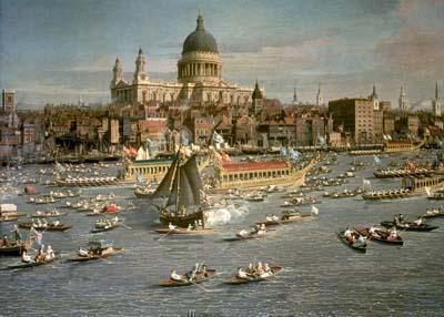 Canaletto, London