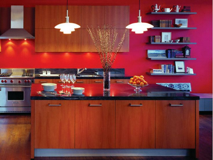 30 Best Red Kitchen Walls Images On Pinterest Kitchens
