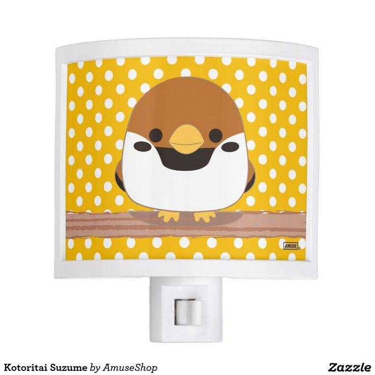 Kotoritai Suzume Night Light #lámpara #lamps