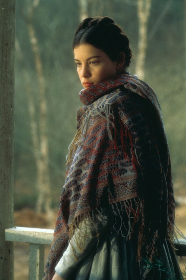 gasstation:    Liv Tyler inOnegin, 1999