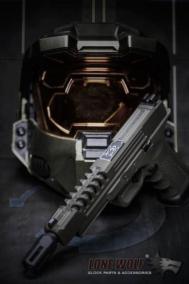 Please let Halo inspired Glock parts be a thing