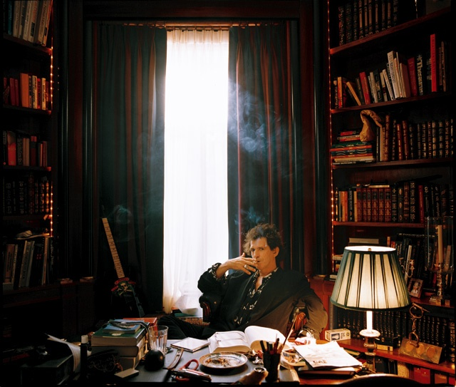 The Room of Keith Richards