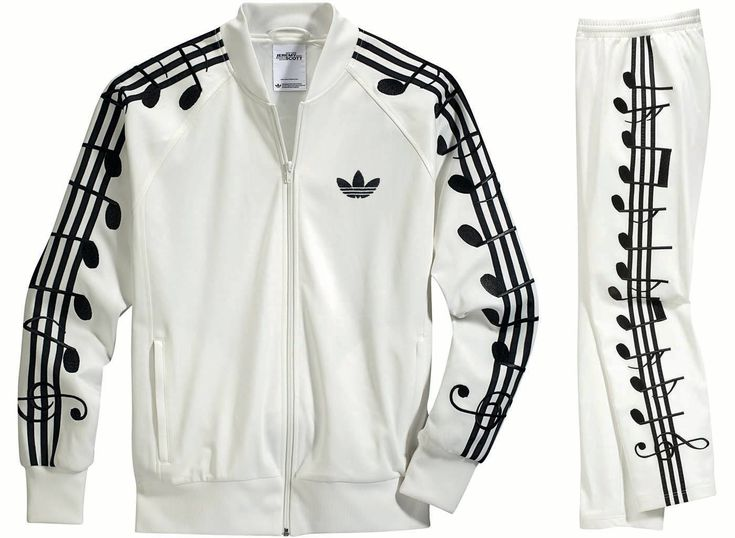 Jeremy Scott for Adidas Originals Music Note Tracksuit