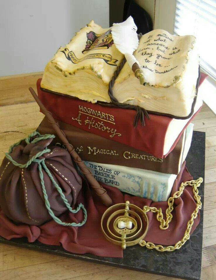 Birthday Cake Ideas Harry Potter : 17 Best ideas about Harry Potter Cake Decorations on ...