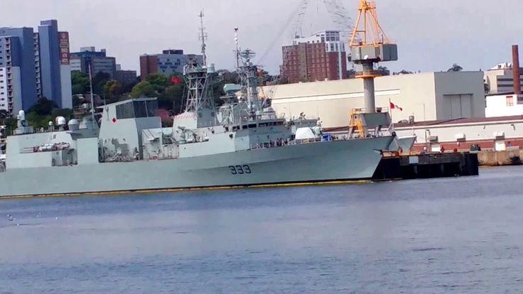 Nova Scotia Ferry Halifax to Dartmouth Canada Canadian Navy tourism