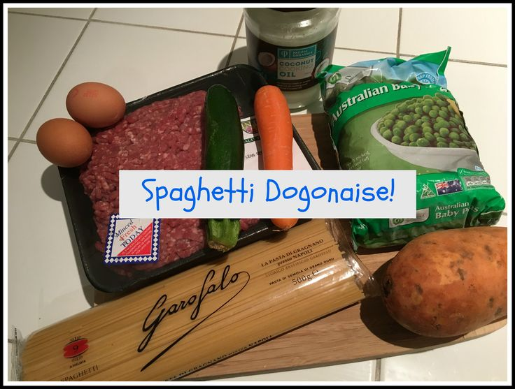 Try this scrumptious winter meal for your fur baby, Spaghetti Dogonaise, they'll love it.