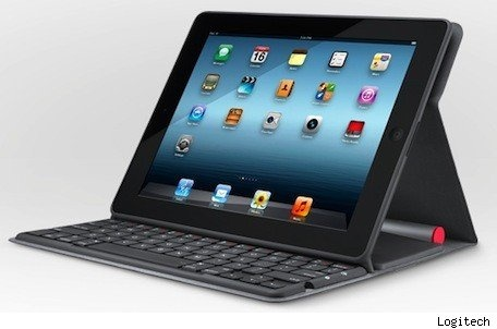 Logitech introduces a new Solar Keyboard Folio for iPad.: Hand-Held Computers, Logitechsolar, Ipad Cases, Ipad Keyboard, Logitech Solar, Keyboard Cases, Keyboard Folio, Solar Power, Solar Keyboard