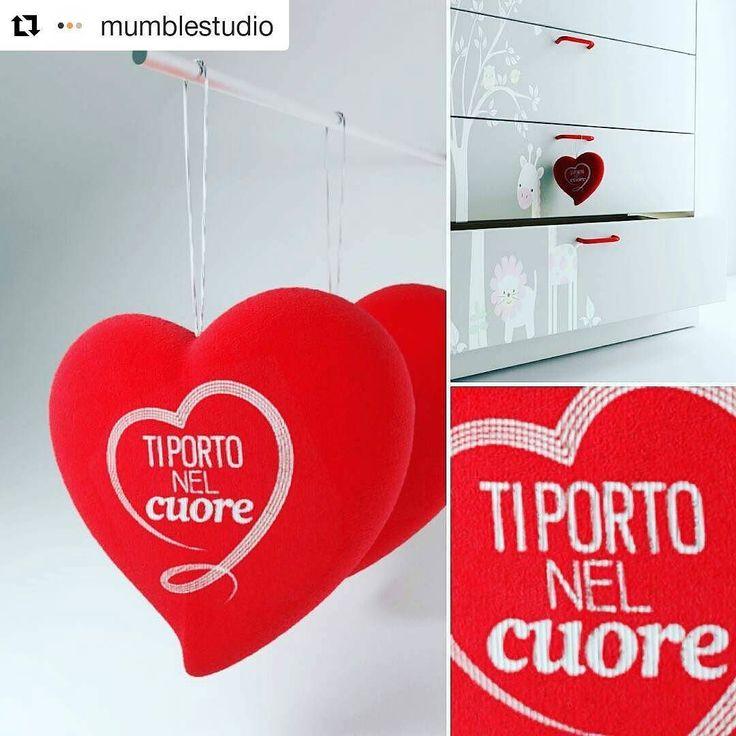 """#Repost @mumblestudio with @repostapp  """"Ti porto nel cuore"""". Cuore di peluche per la maratona televisiva Telethon. / Plush heart for Telethon.  #render #rendering #3dmodel #3dmax #vray #visualization #italiandesign #design #italy #heart #cuore #peluche #plush #red #rosso #object #prototype #3d #love"""
