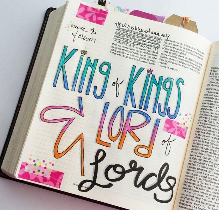 1 Timothy 6:15 - King of kings
