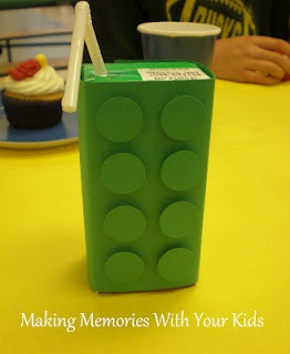Lego juice boxes