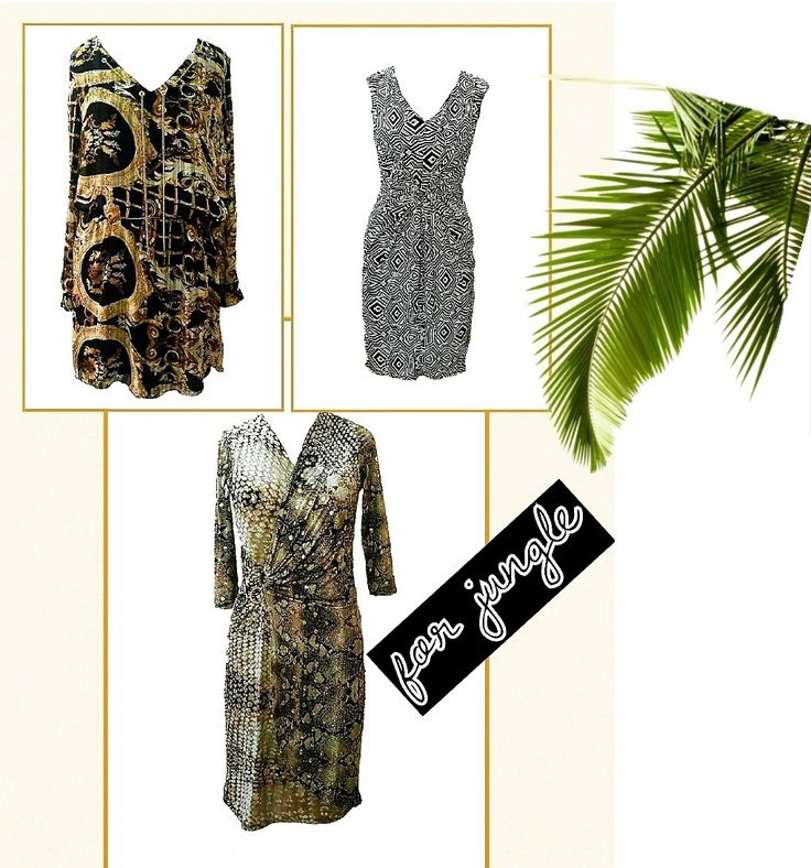 Sexy,graphic silhouettes in leopard and zebra make it high on our list for summer soirees