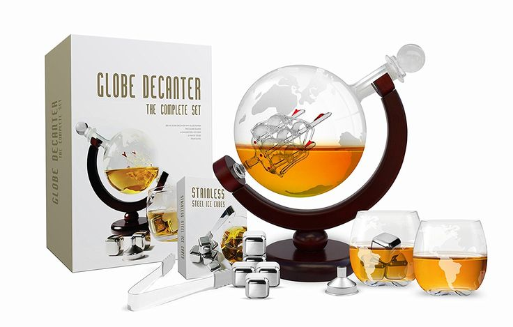 unique valentines gifts for men Whiskey Decanter Set