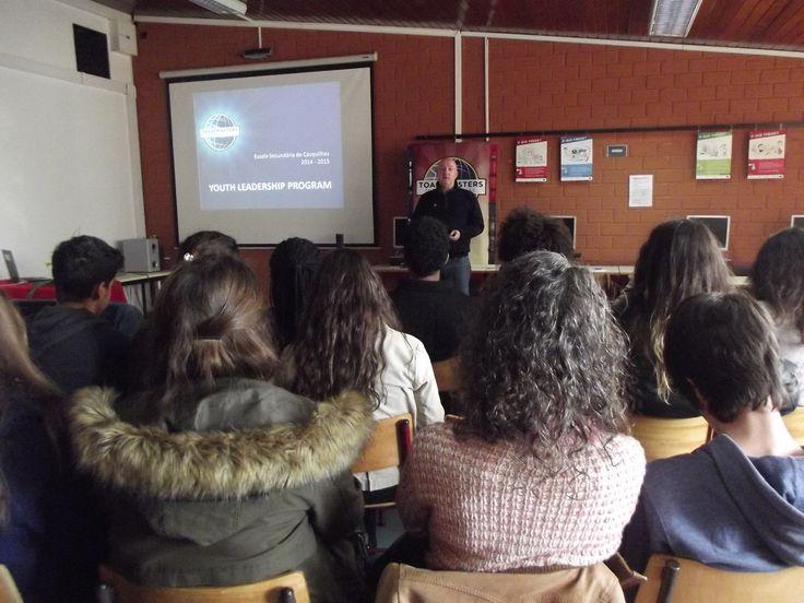 Programa de Public Speaking na ES de Casquilhos no Barreiro