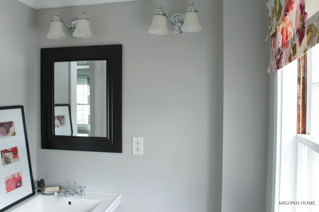 2861 best images about color palettes for the home i on for Benjamin moore grey bathroom