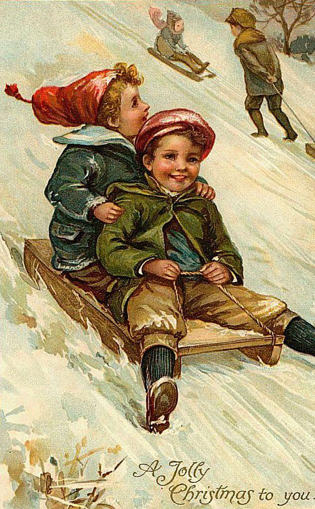Новогоднее с детьми. Винтаж. Обсуждение на LiveInternet - Российский Сервис Онлайн-Дневников