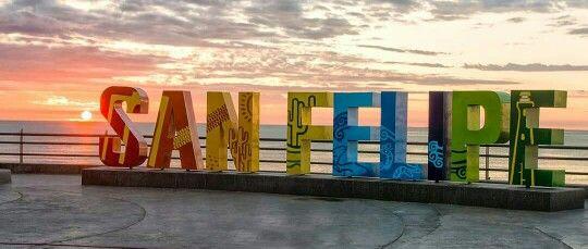 Malecón San Felipe.
