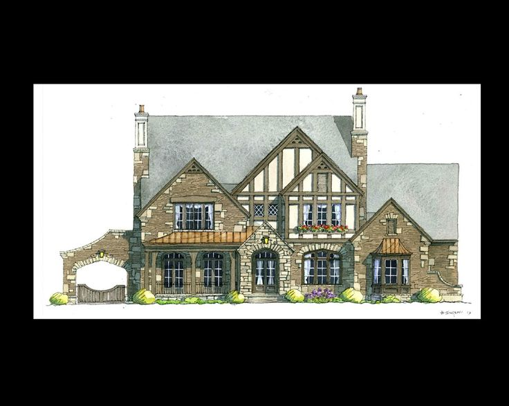 1000 images about 2014 home on pinterest for Tudor revival house plans