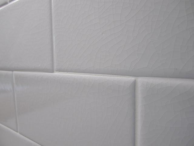 Crackle Subway Tile Backsplash Kitchen Inspiration