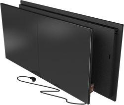 #3dModel Керамический обогреватель Flyme 900PB с программатором. Черный. Двойная панель.