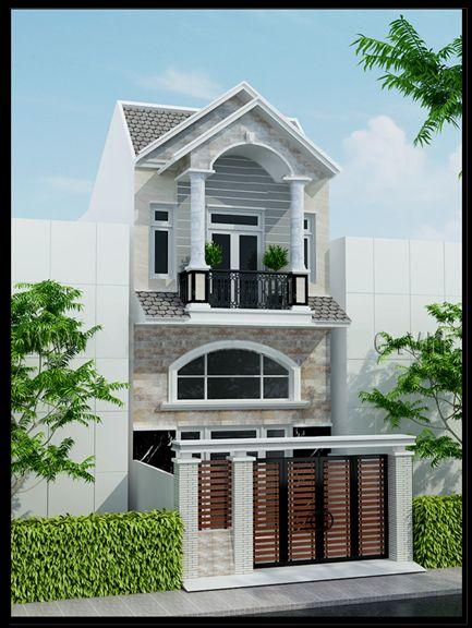 Mẫu nhà 2 tầng mái thái đẹp diện tích 6x12m là mẫu nhà phố đẹp không khó để quý khách có thể bắt gặp đâu đó trên các tuyến đường hay tuyến phố huyện thị. Ngoại hình tươi tắn và duyên dáng là sự thu hút níu kéo mà phong cách hiện đại của mẫu nhà đẹp này đem lại...