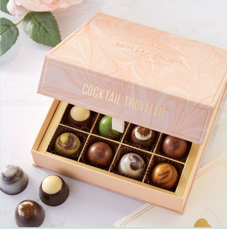 Luxury Giftable Chocolate Truffles - Oil and Water Inspired Library Explores the Best Chocolate Flavors from Around the World in 2020
