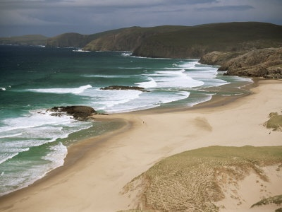 Sandwood Bay. Fave beach...miss this place!