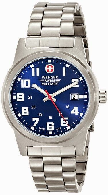 Wenger Men's Classic Field Watch 72908 $111.47 http://roksmu.blogspot.com/2014/07/army-watch.html