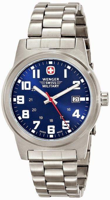 Wenger Men's Classic Field Watch 72908 $111.47 http://roksmu.blogspot.com/2014/07/army-watch.html