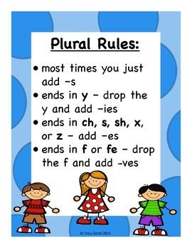 Singular and Plural Nouns!  Easy to use activities!  Grades K-3