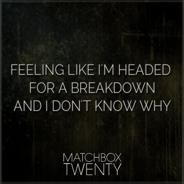 matchbox 20 #lyrics