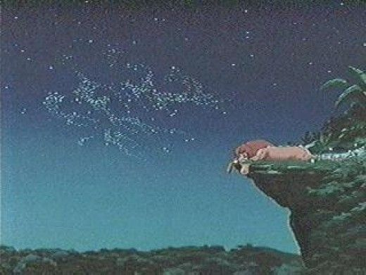"""In the original release of The Lion King, the letters S-E-X can be seen spelled in the leaves when Simba lays down. It was removed in the DVD release which turned this into a myth. The letters actually spell out """"SFX"""", the abbreviation for special effects."""