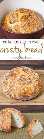 nice No Knead Dutch Oven Crusty Bread