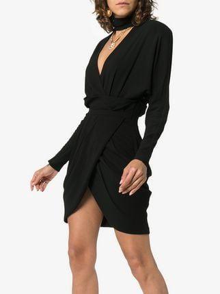 3e47408a3 Versace Vestido Envelope Gola Alta | Roupas que eu amo | Dresses ...