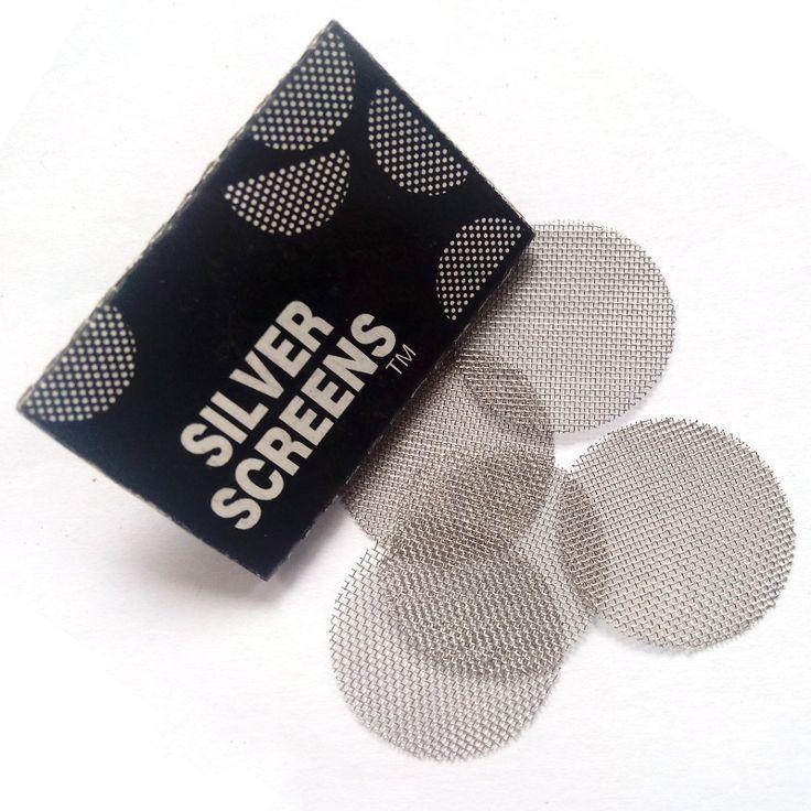 100pcs Multifunctional Hookah Water Pipe Stainless Steel Tobacco Smoking Accessories Metal Filters Smoke Pipes Screen Gauze