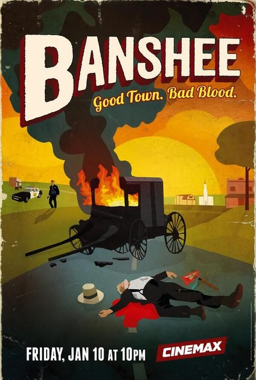 Banshee - Season 2 - Official Poster