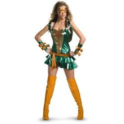 Sexy Ladies Teenage Mutant Ninja Turtles Halloween Costumes