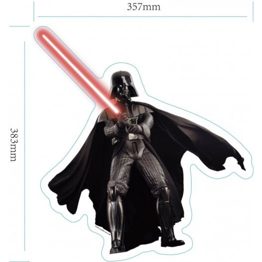 Disney - Star Wars Wallies 3D Darth Vader