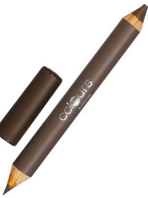 Eyebrow Double Pencil Nr. 2 Cashmere Brown. #Ögonbryn #ögon  • Tunn spets: till fina steck att definiera brynen med • Tjock spets: till utfyllnad av tunna eller ljusa bryn  TIPS: pennan kan även användas som ögonskugga!  125:- Fri frakt.