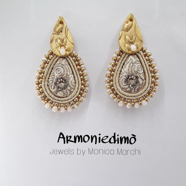 Handmade earrings by Armoniedimò