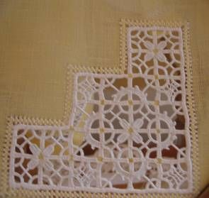 Reticello embroidery